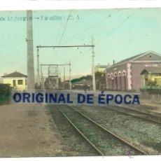 Postales: (PS-40222)POSTAL FOTOGRAFICA DE CORNELLA DE LLOBREGAT-ESTACIO FERROCARRIL. Lote 43763570