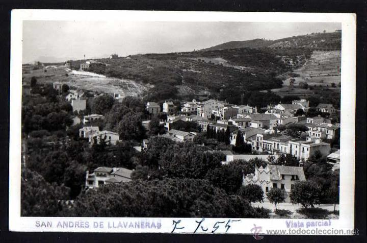 SAN ANDRES DE LLAVANERAS. VISTA PARCIAL. CIRCULADA (Postales - España - Cataluña Moderna (desde 1940))