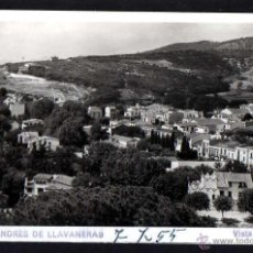 Postales: SAN ANDRES DE LLAVANERAS. VISTA PARCIAL. CIRCULADA. Lote 43805954