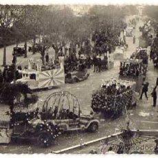 Postales: SANT FELIU DE GUIXOLS. RUA DE CARNESTOLTES AL PASSEIG. ANYS 1920S. FOT. MANETES. Lote 43881631