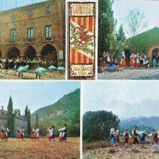 Postales: MANRESA - ESBART MANRESA - POSTAL GIGANTE - ED. LLOBET - NUEVA - AÑO 1973 - RD15J. Lote 43901960