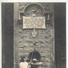 Postales: BUENA POSTAL DE MANRESA - POZO DE SAN IGNACIO DE LOYOLA - SOBRERROCA Nº12 DE THOMAS ESPERANTO. Lote 43972415