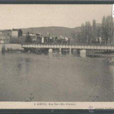 Postales: RIPOLL - 3- RIU TER - RIU FRESSER - ROISIN - (23569). Lote 44044488