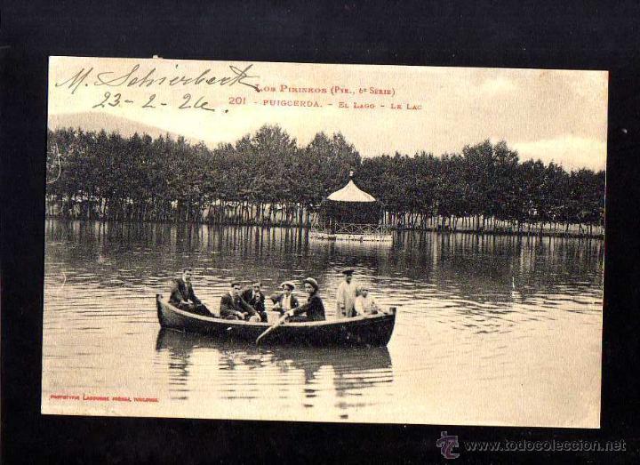 PUIGCERDÀ. CIRCULADA. (Postales - España - Cataluña Antigua (hasta 1939))