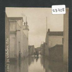 Postales: PALAMOS - INUNDACIONES - 30 DE OCTUBRE DEL 1920 - FOTOGRAFICA - (23708). Lote 44091108