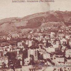 Postales: BARCELONA. ALREDEDORES (SAN GERVASIO).. Lote 44144292