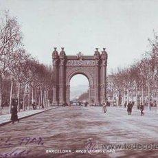 Postales: BARCELONA. ARCO DE TRIUNFO.. Lote 44144444
