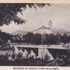 Postales: SANTUARIO NUESTRA SEÑORA DE LA GLEVA (SIN CIRCULAR). Lote 44174501