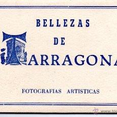 Postales: TARRAGONA .- 10 POSTALES DE BELLEZAS DE TARRAGONA .- EDICIONES FICA. Lote 44179218