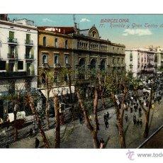 Postales: BARCELONA 17. RAMBLA Y GRAN TEATRO DEL LICEO. ED. J. VENINI. SIN CIRCULAR.. Lote 44211904