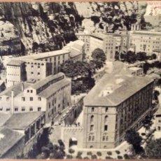 Postales: POSTAL FOTOGRAFICA MONTSERRAT RECINTO DEL MONASTERIO 1912. Lote 44227636
