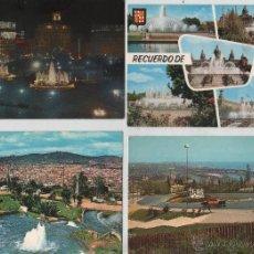 Postales: POSTALES-LOTE DE 60 POSTALES DE BARCELONA (VER FOTOS). Lote 44244846