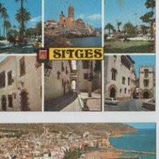 Postales: POSTALES-LOTE DE 2 POSTALAS DE SITGES. Lote 44244914