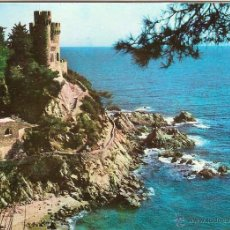 Postales: LLORET DE MAR (COSTA BRAVA), CASTELL, SA CALETA - G. COSTA Nº 581 - CIRCULADA. Lote 44290565
