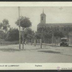 Postales: CORNELLA DE LLOBREGAT - ESGLESIA - FOTOGRAFICA - (23881) . Lote 44360222