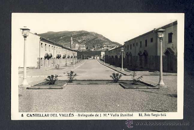 Postal de castellar del valles avinguda de j m comprar - Tiempo castellar del valles ...