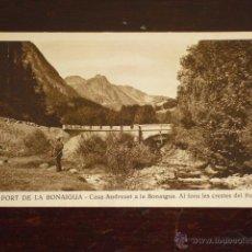 Postales: PORT DE LA B ONAIGUA -. Lote 44387680