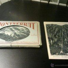 Postales: 14 POSTALES MONTSERRAT DE ADOLFO ZERKOWITZ. Lote 44554520