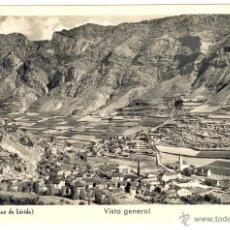 Postales: ESPOT - PALLARS - LLEIDA - POSTAL VISTA GENERAL. Lote 44637174