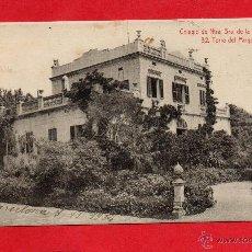 Postales: COLEGIO DE NTRA SRA DE LA BONANOVA. 32 ATV. TORRE DEL PARQUE. Lote 44732362