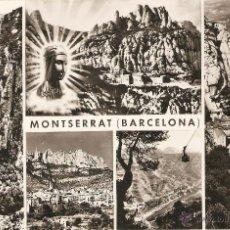 Postales: MONTSERRAT 1076 VISTAS DE MONTSERRAT ZERKOWITZ CIRCULADA. Lote 44779428
