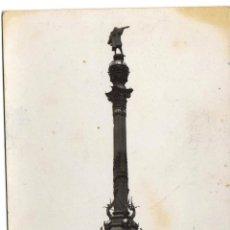 Postales: POSTAL BARCELONA - MONUMENTO A COLON. Lote 44836951