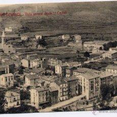 Postales: CAMPDEVANOL (GERONA).- VISTA GENERAL DESDE L´CASTELL. Lote 44851089