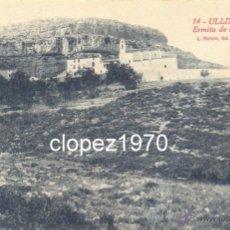 Postales: ULLDECONA, ERMITA DE LA PIEDAD, EDIT.L.ROISIN. Lote 44867283