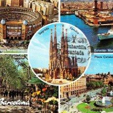 Postales: POSTAL - BARCELONA - VARIAS VISTAS - NO CIRCULADA. Lote 44907724