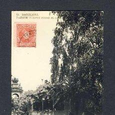 Postales: POSTAL DE BARCELONA: PARC, PONT SOBRE EL LLAC. FOTOGRAFICA ANTIGA (LB NUM. 19). Lote 44995454