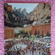 Postales: MONTSERRAT SARDANA POSTAL ESCUDO DE ORO 99 EDICIONES FISA SIN USAR BARCELONA. Lote 45016911