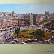 Postcards - PLAZA CALVO SOTELO Y AVDA. GENERALISIMO. BARCELONA. ED. ZERKOWITZ - 45042071