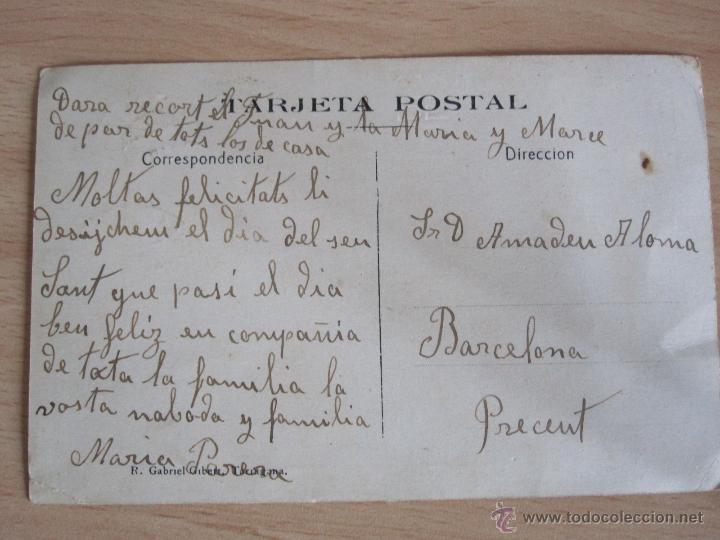 Postales: POSTAL DE LA POBLA DE MONTORNES -TARRAGONA - Foto 2 - 45056832