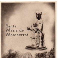 Postales: MONTSERRAT .-SANTA MARIA DE MONTSERRAT .- EDICION HUECOGRABADO RIEUSSET. Lote 45082991