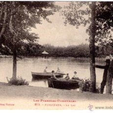 Postales: ANTIGUA POSTAL DE PUIGCERDA - LE LAC. Lote 45115644