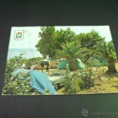 Postales: ALCANAR (TARRAGONA) PLAYA CAMPING LOS ALFAQUES. Lote 45145945