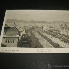 Postales: BARCELONA SALON DE SAN JUAN. Lote 45176516