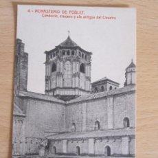 Postales: POSTAL MONASTERIO DE POBLET. Lote 45224175