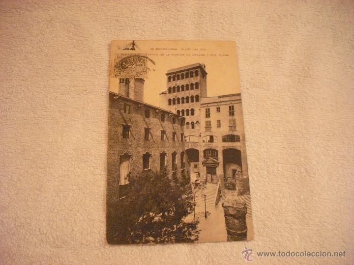 Barcelona 22 Plaza Del Rey Archivo De La Cor Buy Old Postcards
