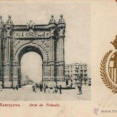 Postales: BARCELONA - ARCO DE TRIUNFO.. Lote 45300492