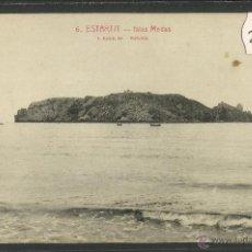 Postales: ESTARTIT - 6 - ISLAS MEDAS - ROISIN - (25104). Lote 45377670