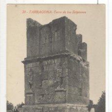 Postales: TARRAGONA. TORRE DE LOS SCIPIONES. P.Y R. GABRIEL GIBERT. SIN CIRCULAR. RARA. Lote 45381924
