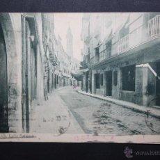 Postales: ANTIGUA POSTAL DE VALLS. TARRAGONA. CALLE BALDRICH. FOTPIA. THOMAS. CIRCULADA. Lote 45400252