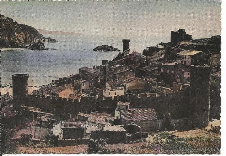 TOSSA DE MAR-GIRONA (Postales - España - Cataluña Moderna (desde 1940))