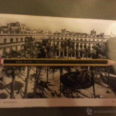 Postales: ANTIGUA POSTAL FOTOGRAFICA ORIGINAL BARCELONA FOT. L. ROISIN N 10 PLAZA FRANCISCO MACIA. Lote 45491300