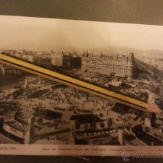 Postales: ANTIGUA POSTAL FOTOGRAFICA ORIGINAL BARCELONA FOT. L. ROISIN N 5 PLAZA DE CATALUÑA. Lote 45491385