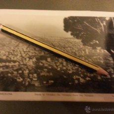 Postales: ANTIGUA POSTAL FOTOGRAFICA ORIGINAL BARCELONA FOT. L. ROISIN N 1 DESDE EL TIBIDABO . Lote 45491405