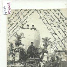 Cartes Postales: (PS-41448)POSTAL FOTOGRAFICA DE REUS-CARNAVAL AÑO 1908. Lote 45501977
