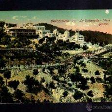 Postales: ANTIGUA POSTAL DE BARCELONA. LA RABASSADA. VISTA GENERAL.. Lote 45538774