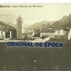 Postales - (PS-41547)POSTAL FOTOGRAFICA DE SAN LLORENS DE MORUNYS-VISTA PARCIAL - 45624195